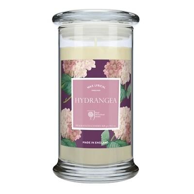 Hydrangea Candle Jar