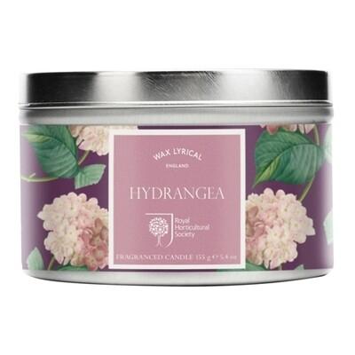 Hydrangea Candle Tin