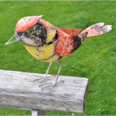 Decorative Garden Bird - Redcap