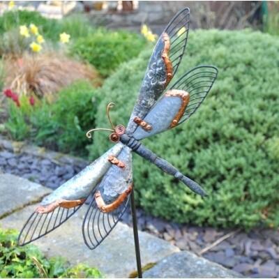 Garden Stake - Dragonfly - Malaysian