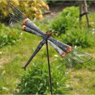 Garden Stake - Dragonfly - Indonesian