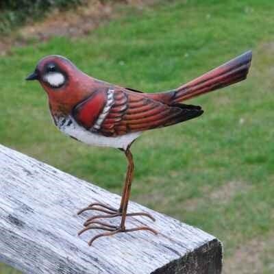 Decorative Metal Garden Bird  - Sparrow Small