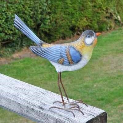 Decorative Metal Garden Bird  - Wagtail Large