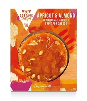 Apricot & Almond Traditional Pressed Fruit for Cheese