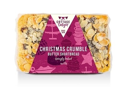 Christmas Crumble Butter Shortbread