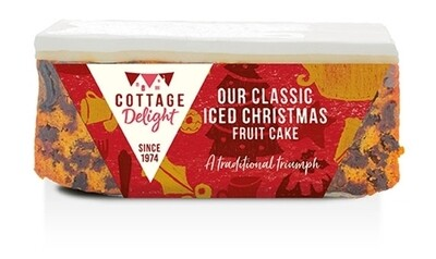 Our Classic Iced Christmas Fruit Cake