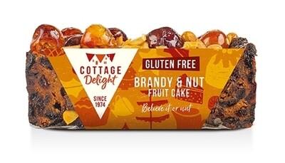 Gluten Free Brandy & Nut Fruit Cake