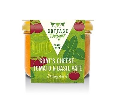 Goat's Cheese, Tomato & Basil Pâté