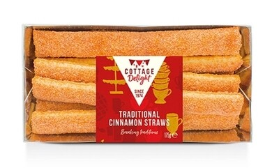 Traditional Cinnamon Straws
