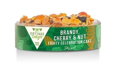 Brandy, Cherry & Nut Fruity Celebration Cake