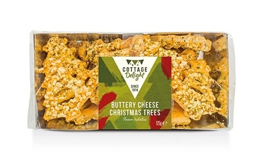Buttery Cheese Christmas Trees