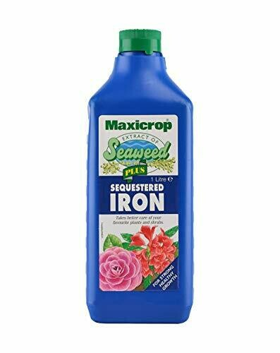 Maxicrop Plus Sequestered Iron, 1 Litre, Blue