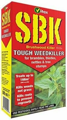 Vitax SBK 500ml Brushwood Killer Tough Weedkiller