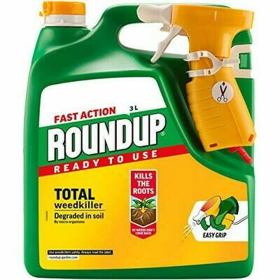 Roundup Fast Action Weedkiller 3L