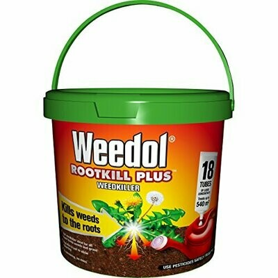 Weedol Rootkill Plus Liquid Concentrate Tubes (18 Tubes)