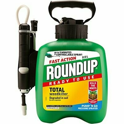 Roundup Fast Action Weedkiller 2.5L