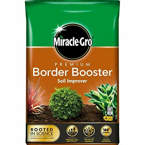 Miracle-Gro Border Booster Compost - 40L Bag