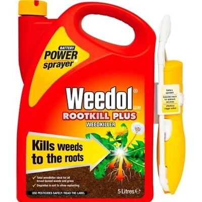 Weedol Gun Rootkill Plus 5 Litre Power Sprayer