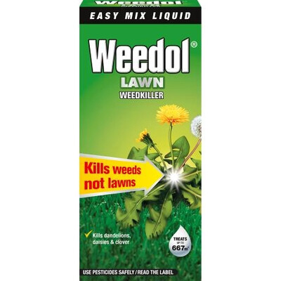 Weedol® Lawn Weedkiller (Liquid Concentrate) 1L