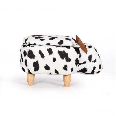Animal footstool - Cow
