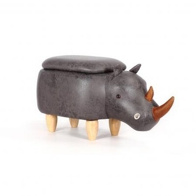 Animal footstool - Rhino