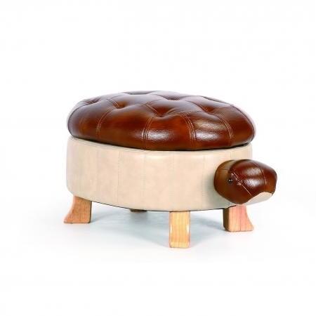 Animal footstool - Brown Tortoise