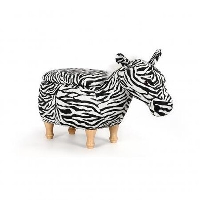 Animal footstool - Zebra