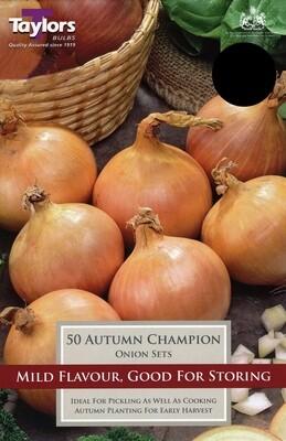 Onion Set Autumn Champion x50