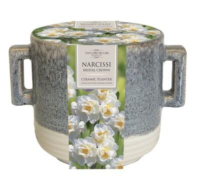 Indoor Narcissi Handle Planter