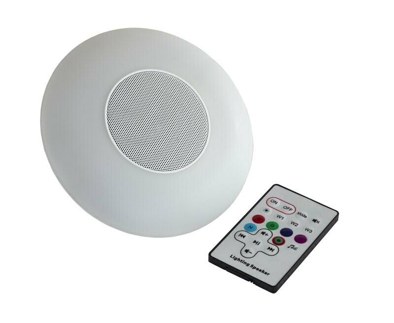 Sidepost Parasol LED light with Bluetooth Speaker