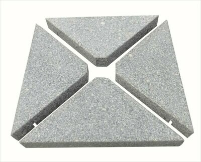 Granite Base - 4 x Triangles (25kg Each)