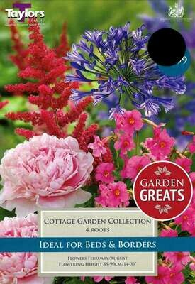Cottage Garden Collection x4