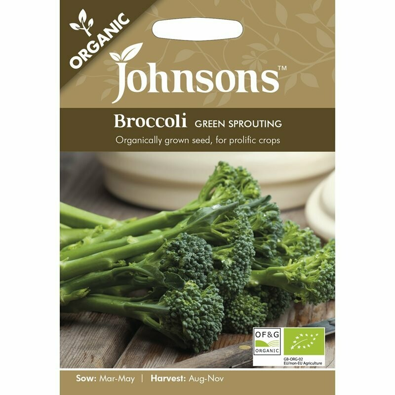 Broccoli Green Sprouting (org)