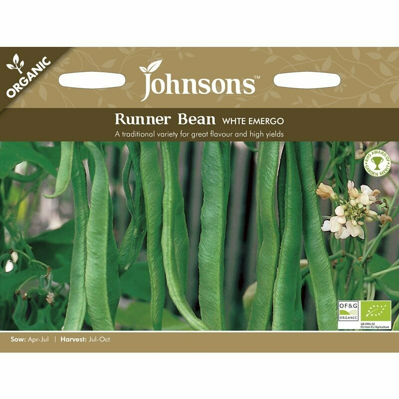 Runner Bean White Emergo (org)