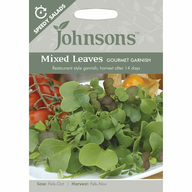Mixed Leaves Gourmet Garnish