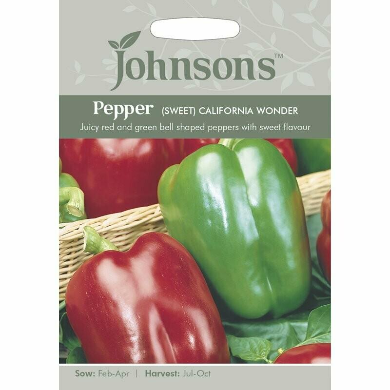 Pepper (Sweet) California Wonder