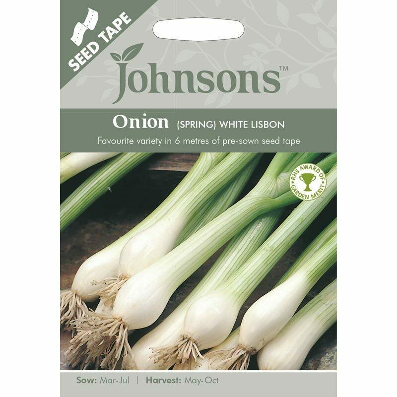 Onion (Spring) White Lisbon (Tape)