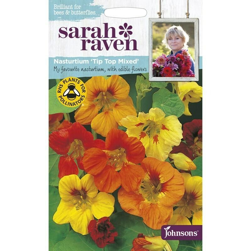 Sarah Raven Nasturtium Tip Top Mixed