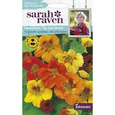 Sarah Raven Nasturtium Tip Top Mixed