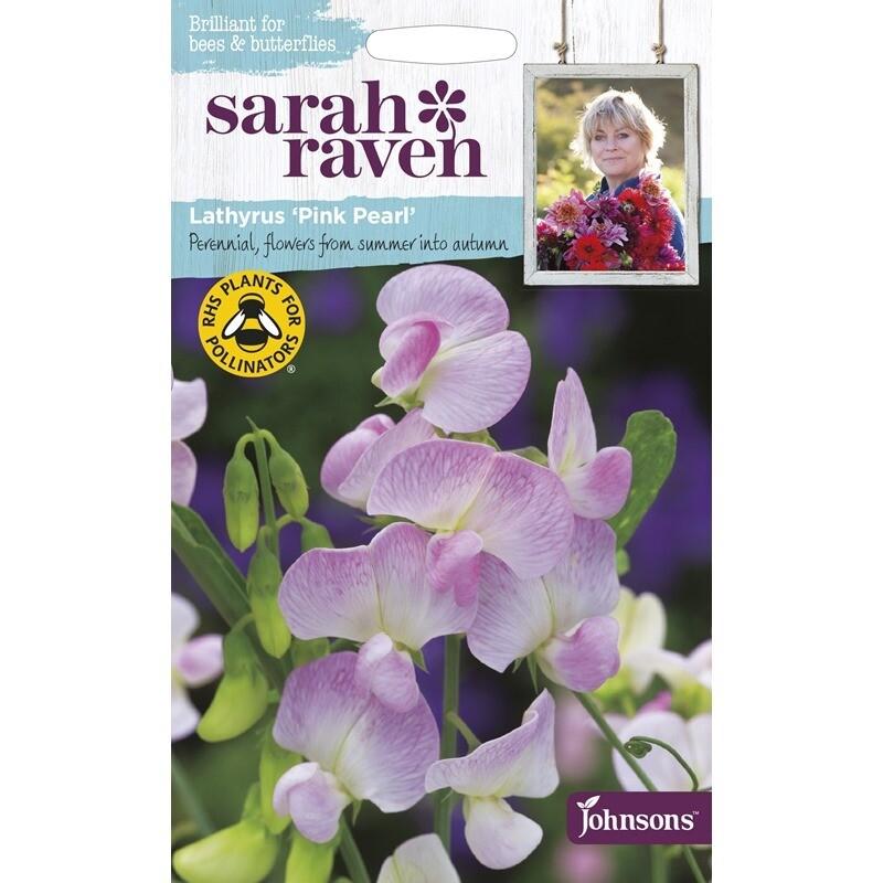 Sarah Raven Lathyrus Pink Pearl