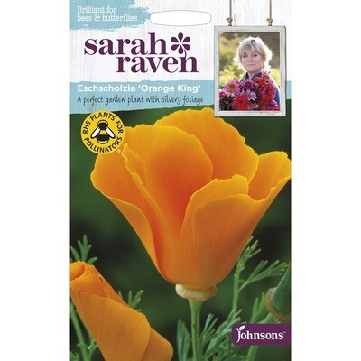 Sarah Raven Eschscholzia Orange King