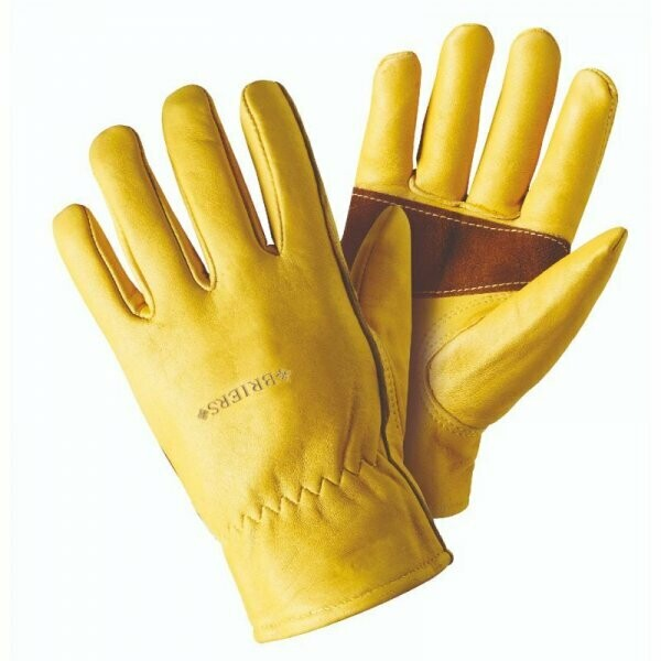 Ultimate Golden Leather Glove - Large