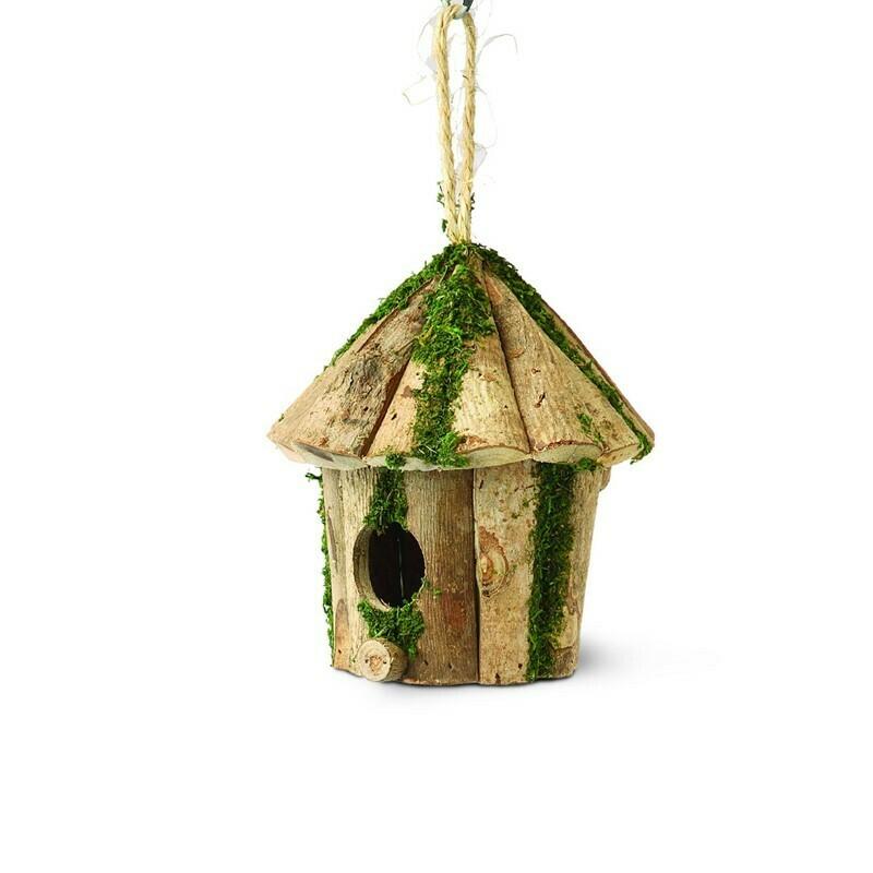 Nest Box - Round Log Hut