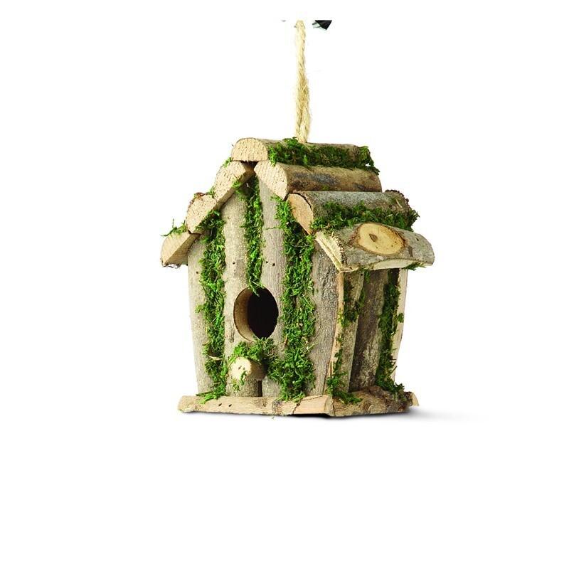 Nest Box - Square Log Hut