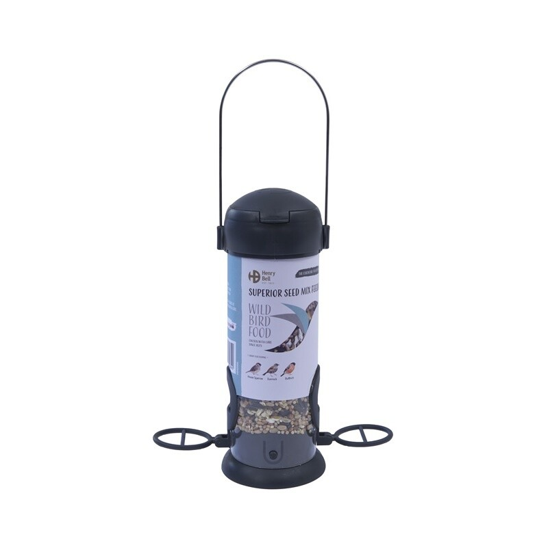 Ready To Feed Filled Superior Seed Mix Feeder