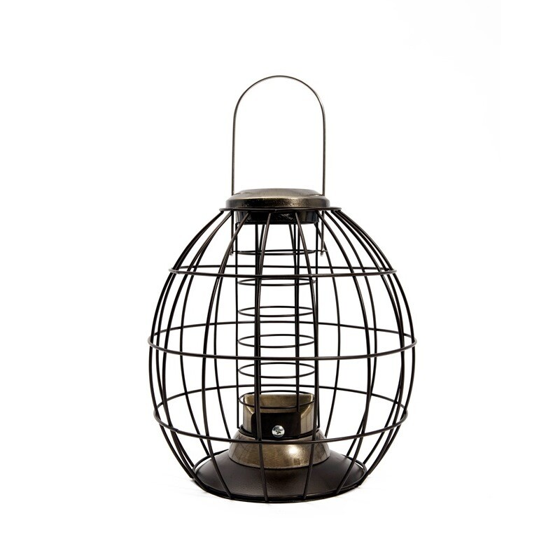 Heritage Gold Squirrel Proof Feeder Fat Ball