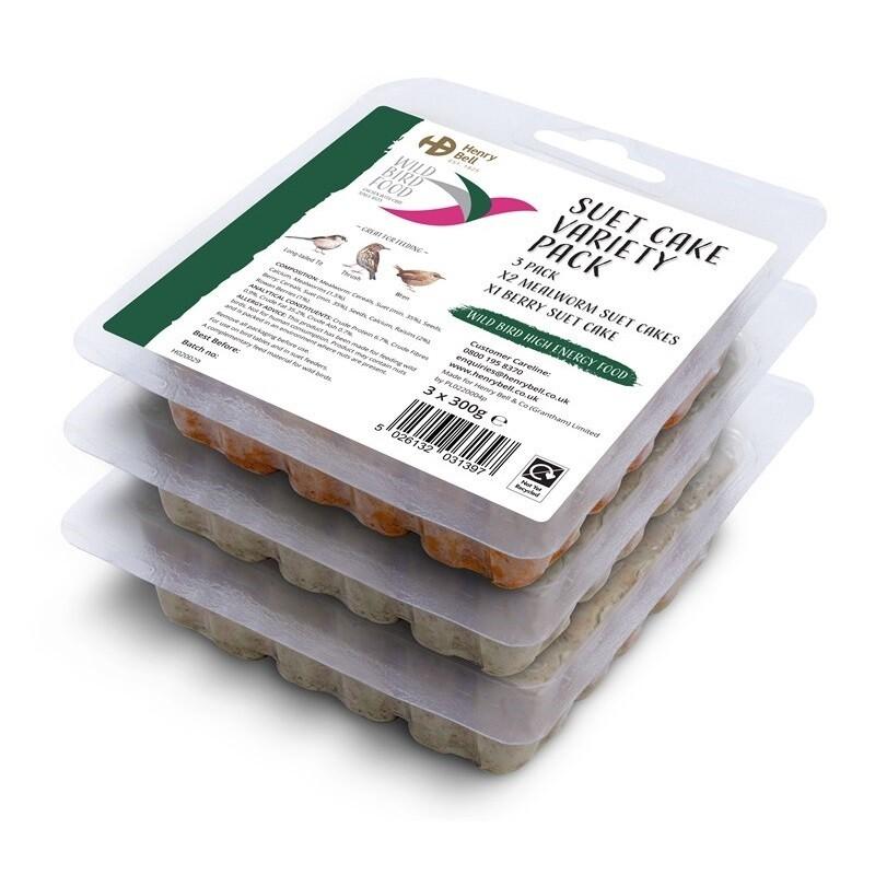 Suet Cake Variety 3 Pack