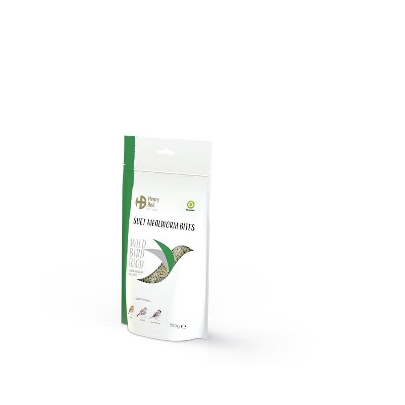 Suet Mealworm Bites  500g