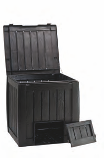 Deco Composter With Base - 340Litre