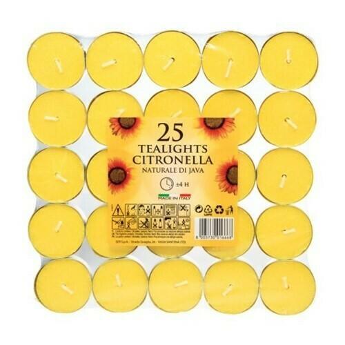 Citronella Tealights x 25